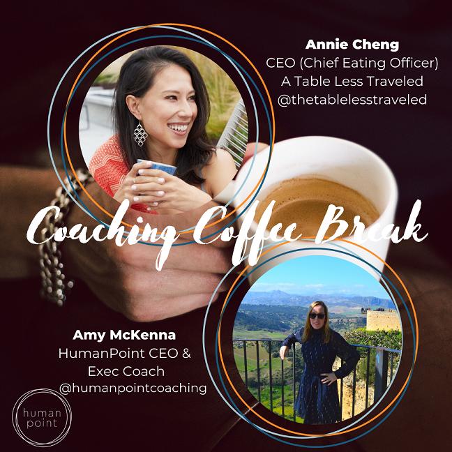 Coaching Coffee Break | 7.21.20 | Amy & Annie Cheng