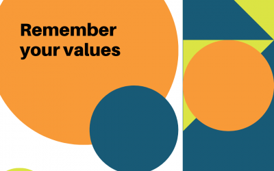 Remember Your Values